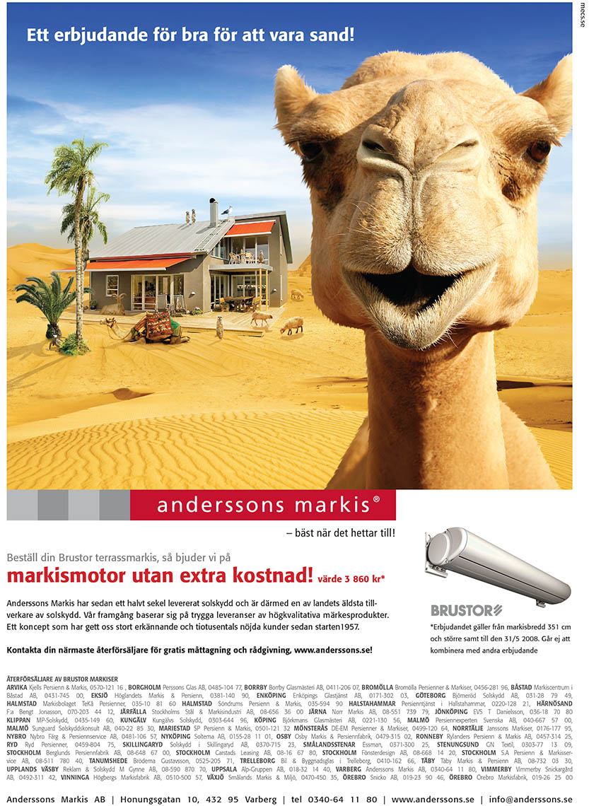 Anderssons Markis